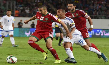 Chafik contre la Zambie